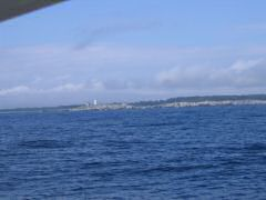 Approaching Shelburne Harbor